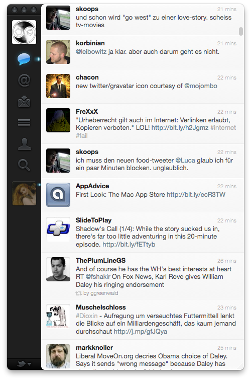 Twitter.app Screenshot