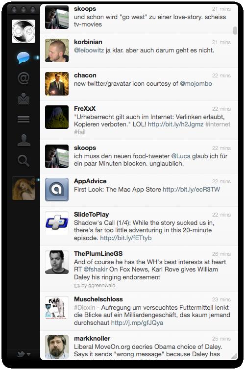 Twitter.app Screenshot